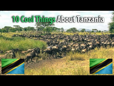 🇹🇿 10 Cool Things About Tanzania 🇹🇿