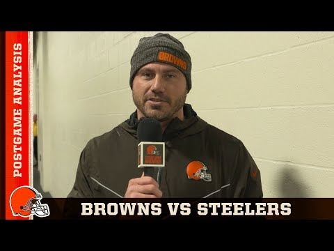 Browns vs Steelers Postgame Analysis | Cleveland Browns