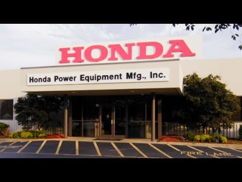 Honda Power Equipment Plant In North Carolina