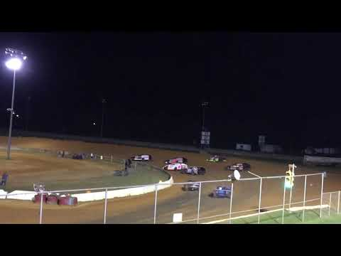 Fayetteville  Motor Speedway Dirt Open Wheel Modified 1/3 10-13-18