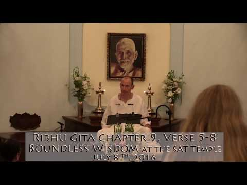 Ribhu Gita, Chapter 8, Topic of the Liberated while Alive, Verses 44-47