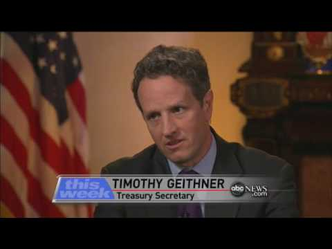 Interview With Timothy Geithner