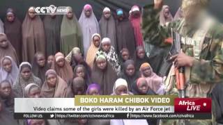 Download Boko Haram releases new video showing girls carrying toddlers