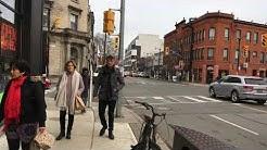 Toronto Neighbourhood Walk - Dundas St through The Junction & Dupont St - Junction Triangle - 4K
