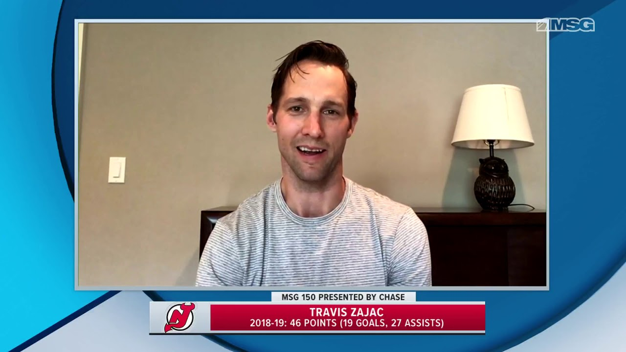 new products 22f41 057ba Travis Zajac Talks the Excitement Around the Top Pick | New Jersey Devils
