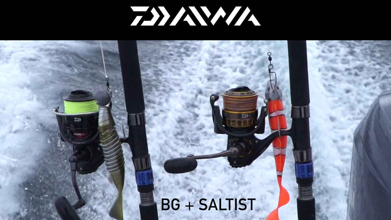 3a15e7858b5 DAIWA: SALTIST NERO + BG | Salzwasser Spinnrollen - YouTube