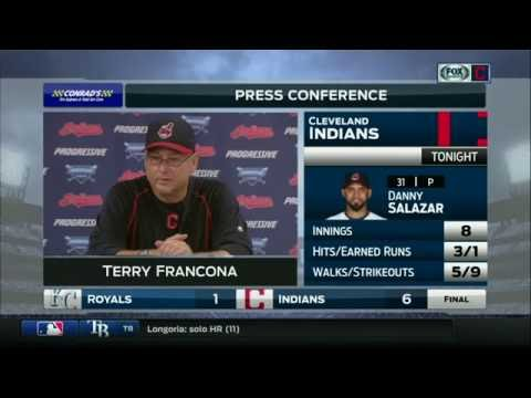 Terry Francona: Danny Salazar commanded his full arsenal in Indians win