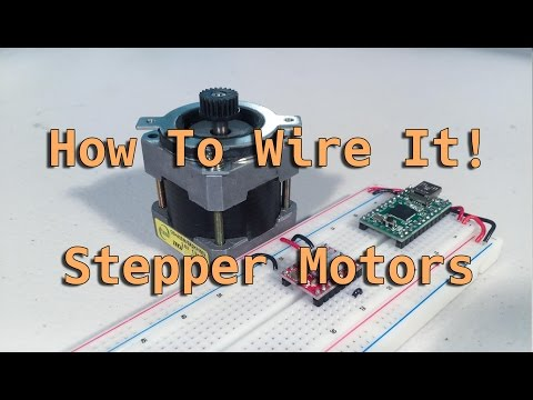 How To Wire It! Stepper Motors