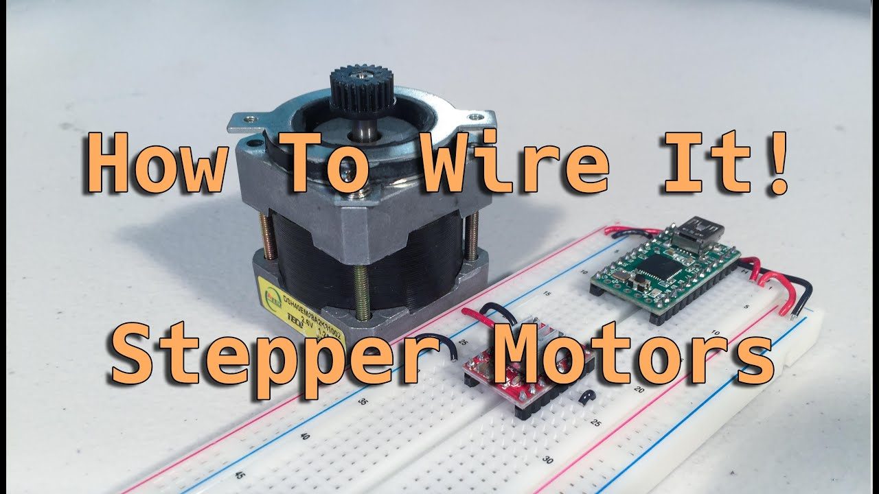 How To Wire It! Stepper Motors Wantai Stepper Motor Wiring Diagram on