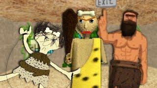 caveman baldi no like bad math... | Baldi's Basics Mod Gameplay