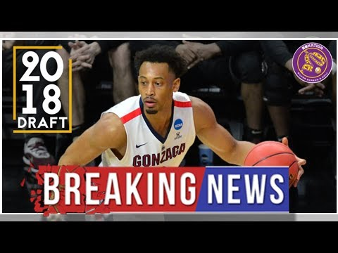 eff8bde9298 NBA Rumors: Lakers add Johnathan Williams of Gonzaga to summer league roster
