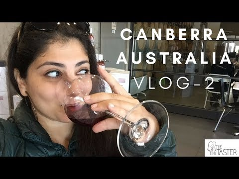 The Tiny Taster | Canberra Vlog 2 | Canberra Winery Tours | Australia