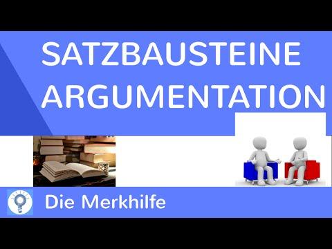 Satzbausteine überleitungen Für Eine Argumentation Erörterung Hilfestellung Für Erörterungen
