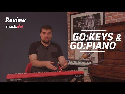 Review  Roland GO Keys  GO Piano
