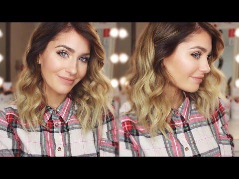 Locken bei mittellangen Haaren! | BELLA