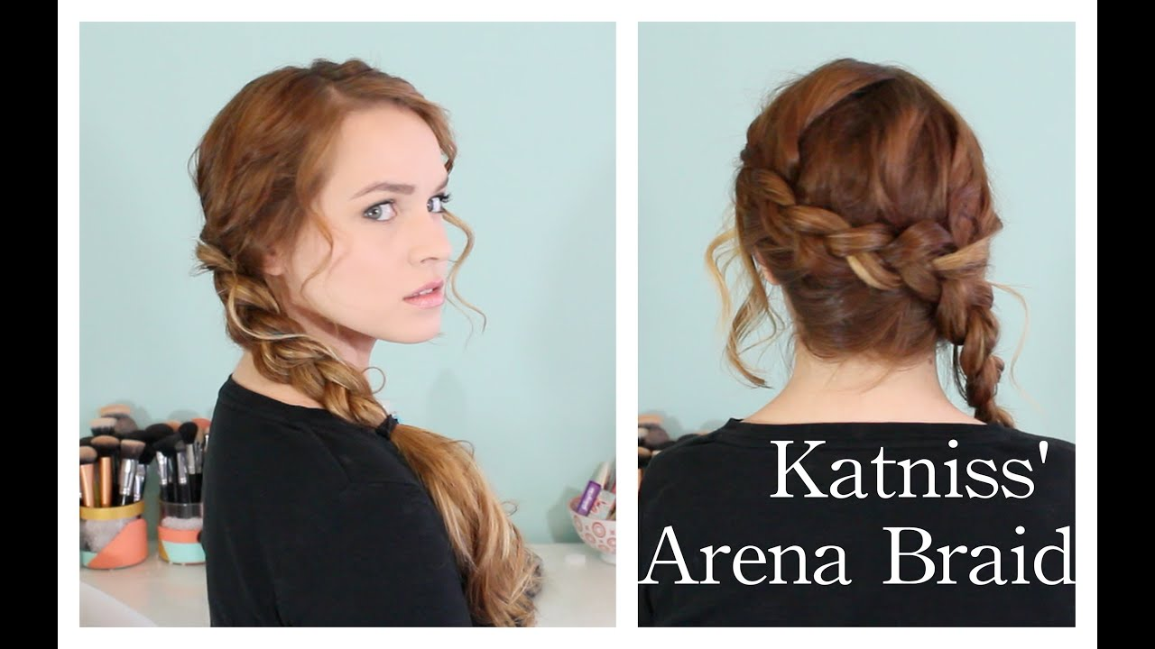 Hunger Games Katniss' Arena Braid YouTube