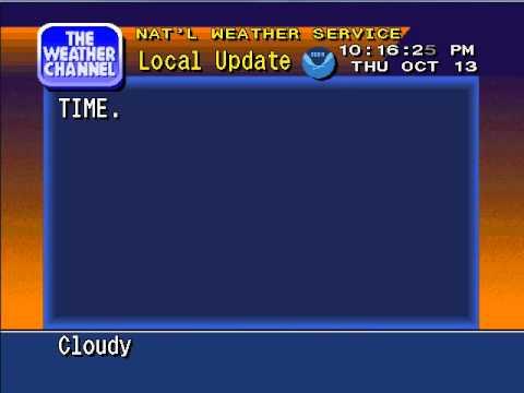 WeatherStar 4000 Emulator v3 - 10/13/11