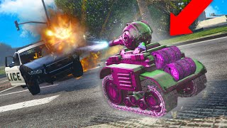 FULLY UPGRADING THE RC TANK! | GTA 5 THUG LIFE #292