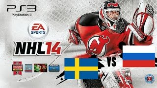 [NHL14] Russia Sweden (PS3)