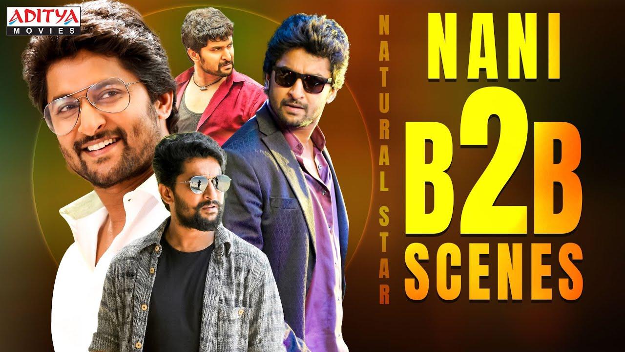 Nani Birthday Special Back-To-Back Hindi Dubbed Movie Scenes @Aditya Movies