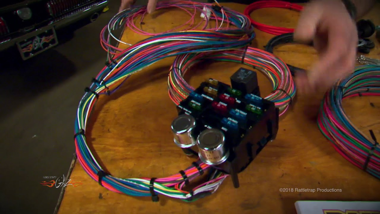 small resolution of painless performance pro series wiring harness