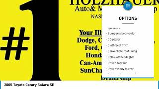 2005 Toyota Camry Solara Holzhauer Auto and Motorsports Group 062641