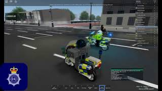 [Roblox City of London] Metropolitan Police SC019 Armed take Down!