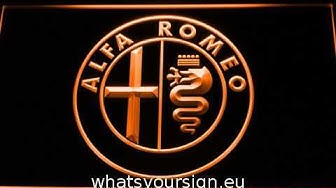 Alfa Romeo LED Neon Sign