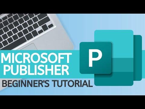 Microsoft Publisher - 2019 Beginner's Tutorial