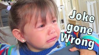 Joke Gone Wrong! - October 23, 2014 - itsJudysLife Daily Vlog