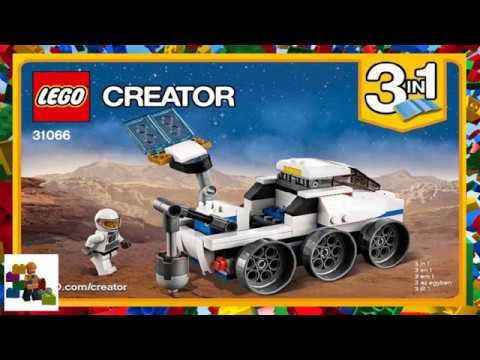 Lego Instructions Creator 31066 Space Shuttle Explorer Book 3
