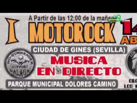 """La música, el motor y la solidaridad protagonizarán el Motorock """"Ciudad de Gines"""" de este sábado"""