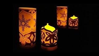 Hattifant - Snowflake Luminary Papercraft