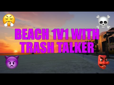 BEACH 1v1 WITH A BARCODE | GTA V ONLINE