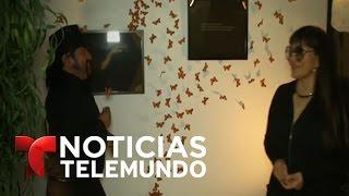 Artista mexicana homenajea a inmigrantes en Los Angeles