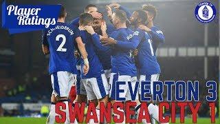 Everton 3-1 Swansea City | EFC Player Ratings