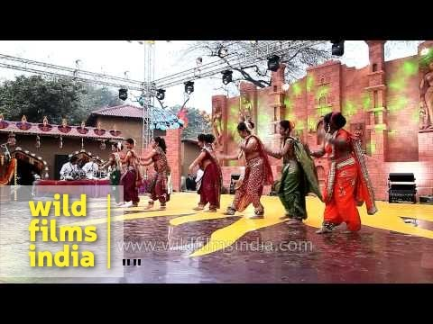 Lavani, folk dance of Maharashtra