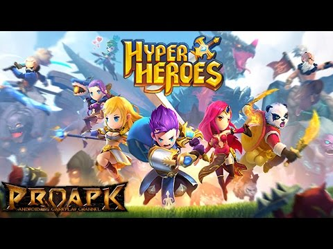 Hyper Heroes Gameplay IOS / Android