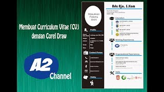 Membuat Curriculum Vitae dengan Corel Draw ( model 1 )