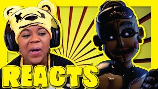 Ballora Song | Dance To Forget | TryHardNinja Reaction | AyChristene Reacts