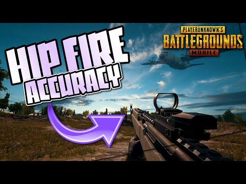 PUBG MOBILE HIP FIRE ACCURACY