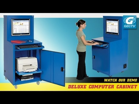 Deluxe LCD Computer Cabinet