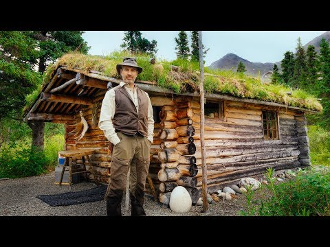 Alone at Dick Proenneke's Log Cabin in the Wilderness | Silence and Solitude in Alaska