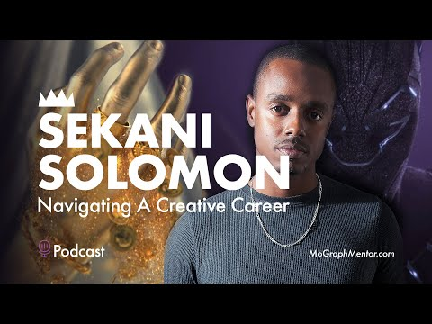 Live Chat w/ Sekani Solomon : Personal Work, Producing Film Titles & Navigating A Creative Career