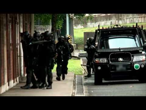 STAR Team Room Breach Singapore Police Force