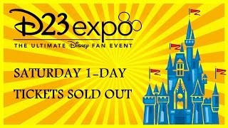 D23 Expo Update: Saturday SOLD OUT & When Disney Mails Out Tickets! Planning Tips & Prep