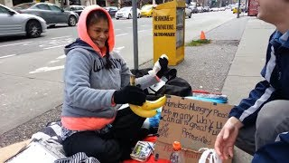 Making the Homeless Smile