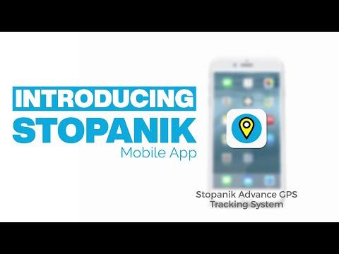 Stopanik GPS Tracking System - FREE Mobile App