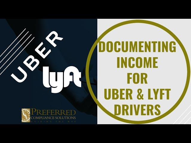 UBER + LYFT | How To Document Income In An LIHTC Community