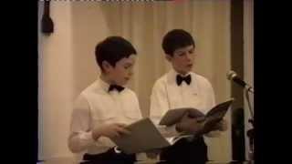 Concert 13-12-95 - Wolfgang et moi